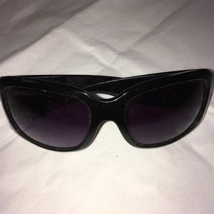 Accessories - Gently Used. Black with Rhinestones Sunglasses
